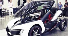 Концепт Opel RAK e 3rd Wheel, City Car, Motor Car, Cars And Motorcycles, Automobile, Racing, Bike, Vehicles, Mall