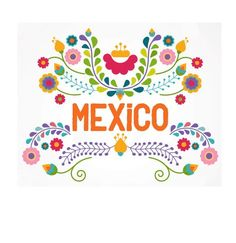 Mexican ethnicity clip art vector illustrations available to search from thousands of royalty free illustration producers. Mexican Colors, Mexican Style, Mexican Folk Art, Mexican Artwork, Mexican Flowers, Mexican Embroidery, Embroidery Patterns, Folk Embroidery, Mexico Art