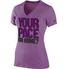 Nike Women's Your Pace Or Mine Short Sleeve Running Shirt - Dick's Sporting Goods