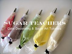 ~ Sugar Teachers ~ Cake Decorating and Sugar Art Tutorials