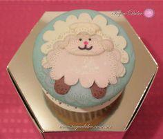 Cupcake de borrego