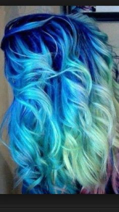 Love crazy color hair