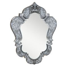 This mirror will accent a variety of tastes and styles. With its beautiful designs and unique oval shape, this home mirror is bound to become the focal point of any room or living space.