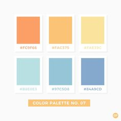 Color Palette No. 07 Color Palette No. Colour Pallette, Color Palate, Colour Schemes, Color Combos, Pastel Colour Palette, Pantone Colour Palettes, Pantone Color, Beach Color Palettes, Colores Hex