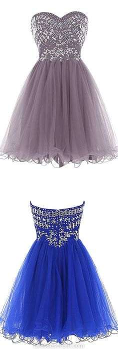 Short Homecoming Dresses, Sweetheart Prom Dress, Simple Party Gowns, Cheap Cocktail Dress, Formal Dresses 2017
