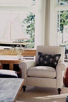 Sarah Richardson Design - Oceanview Estate - Family Room