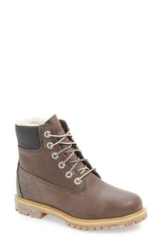 online store 338a9 e95bf Timberland 6 Inch Waterproof Boot (Women) Timberland Winter Boots,  Timberland 6 Inch,