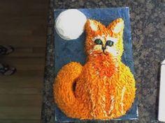 Firestar Cake