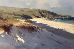 "Colley Whisson     Coastal Headland, Aust 9""x 14"""