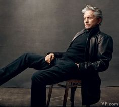 Michael Douglas in New York City. He is determined to get fatherhood right with his and Catherine Zeta-Jones's young son and daughter. Photographed by Annie Leibovitz for Vanity Fair April 2010