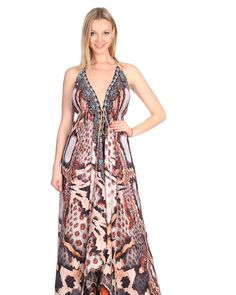 Featured: Long hi lo dress with adjustable waist string in snake digital print with beads and crystal embellishments.Great wear for holiday and resort.Shop at www jsquadclothing.com #swimwear #luxurylife #dtla #losangeles #jsquadclothing #jsquad #resortwear #hautecouture #hautelook #summer #trends #losangeles #fashionista #fashion #lasvegas #redcanyon #bikini #kaftan #malibubeach #beverlyhills #hollywood #hollywoodlife