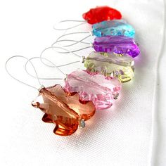 Gummi Bears - City Colors Collection - Six Snag Free Stitch Markers - Fits Up To 6.5 mm (10.5 US) - Limited Edition