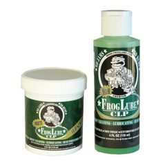 FROGLUBE PREMIUM CLP Lubricant 4oz Paste and 4oz Liquid KIT. best stuff ever.