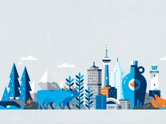 Oh Canada! by Anchor Point #Design Popular #Dribbble #shots