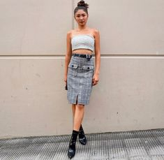 Nadine style for ASAP (carveysam ) Nadine Lustre Ootd, Nadine Lustre Fashion, Nadine Lustre Outfits, Lady Luster, Flattering Outfits, Asia Girl, Girl Crushes, Cool Girl, Fall Outfits