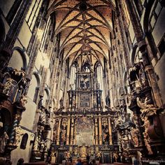Cathedral in Prague #catholicism #prague #instagram