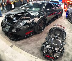 This is too awesome! Luckiest kid ever! @r_lile for the #fisheye capture of these rides at #sema2015  www.squidc.am #squidcam #amazon #lamborghini #lambo