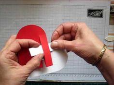 Carte de Saint-Valentin #5 - Carte coeur - YouTube