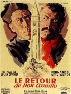 "The Little World of Don Camillo (1952)  ""Don Camillo"" (original title) Stars: Fernandel, Gino Cervi, Vera Talchi ~ Director: Julien Duvivier (Nominated for a  BAFTA Film Award for Best Film,)"