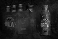 Concept: BitchesBrew - The Dieline -