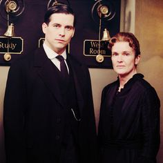 The Downton League of Evil, which TB was able to keep going all by his lonesome, once O'Brien had skedaddled to India for having killed Lord & Lady Grantham's unborn son and heir in 1914.