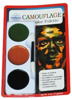 Camouflage TriColor Makeup Palette *** Want additional info? Click on the image. (Note:Amazon affiliate link)