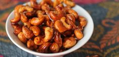 PaleOMG – Paleo Recipes – Snack Attack: Smoky and Spicy Candied Cashews