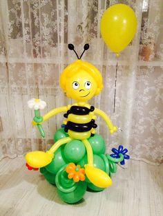 Birthday Balloons, Birthday Parties, Balloon Animals, Ideas Para Fiestas, Balloon Arch, Balloon Decorations, Centerpieces, Sculptures, Creative