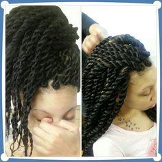 Havana Twists Permed Hairstyles, Twist Hairstyles, African Hairstyles, Cool Hairstyles, Curly Hair Styles, Natural Hair Styles, Natural Beauty, Twist Braids, Havana Twists