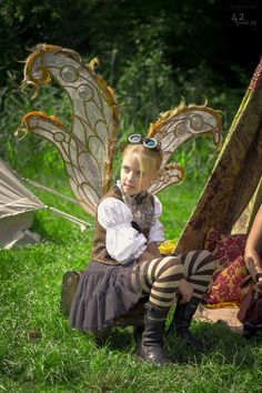 Fantasiafest Meppel 2014 - Steampunk Fairy, photo by Pixel 42