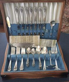 Ivanhoe silverplate Rogers Art Deco Ice Tea Spoon Iced Teaspoon S