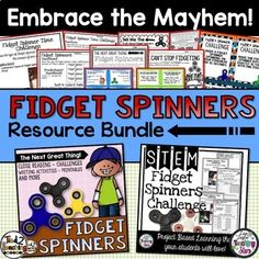 Looking for a fun and fresh end of the year activity for your classroom? Are fidget spinners the new activity of choice for your students? Capture the fidget spinner craze and turn it into rigorous meaningful learning in your