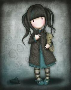 Gorjuss Girl - Just Arrived!!! THE LOST HEART Rubber Cling Stamps New