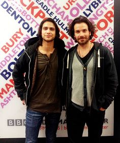 Luke Pasqualino & Santiago Cabrera- THE 2 reasons to watch The Musketeers on BBC America.  Total hotties!!  :D