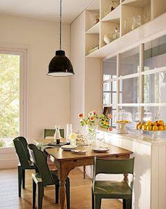 [Decotips] Cómo ganar metros en la cocina y ubicar un comedor de diario | Decoración