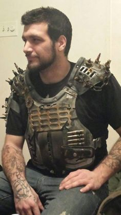 wasteland armor by vultureproductions on Etsy