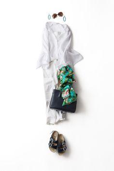 コーディネート詳細(オールホワイトで心地いい夏)| Kyoko Kikuchi's Closet|菊池京子のクローゼット