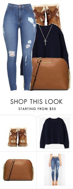 """7/13/16"" by lookatimani ❤ liked on Polyvore featuring UGG Australia, Acne Studios, MICHAEL Michael Kors and Nephora"