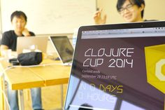 "Takashi AOKI on Twitter: ""For our teams, final commit has done! Congrats everyone! #clojurecup http://t.co/301YgRpgUE"""