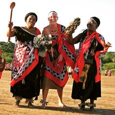 """This is a photo of me and several of my community members as we participate in a local celebration in the Lubombo region of Swaziland. The festival commemorates the harvest of the Marula fruit and women from all over come together to dance for the King. Through the cultural exchange, I learned the proper style of Swazi dress and dance steps and I'm not sure who had more fun—me or the women of my community!"" @peacecorps #peacecorps #swaziland #culture #africa #dance"