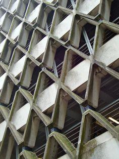 Brutalist, Car Parking, Chocolate, Architecture, Arquitetura, Chocolates, Architecture Design, Brown