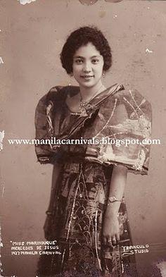 original native filipiana terno