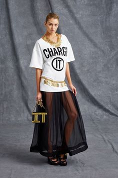 Moschino pre-spring/summer 2016. Click to see full gallery