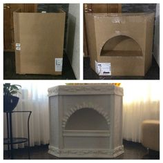 7 Relaxing Hacks: Natural Stone Fireplace fireplace with tv flat screen tvs.Cottage Fireplace Christmas fireplace and tv side by side.Open Fireplace Old. Candles In Fireplace, Paint Fireplace, Fake Fireplace, Fireplace Cover, Brick Fireplace Makeover, Rustic Fireplaces, Christmas Fireplace, Cozy Fireplace, Fireplace Design
