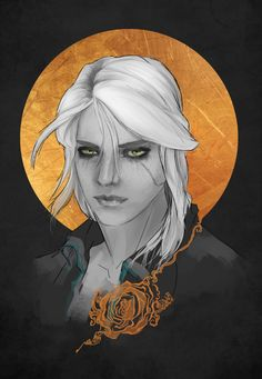 Ciri by AlbaPalacio on @DeviantArt