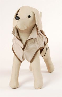 Pet Ego Dogrich Hunter Cream w/Brown Pockets Size 10