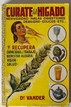 CURATE DEL HIGADO. DR. VANDER 1952 (VER FOTOS) El Desván de Bartleby C/,Niebla 37. Sevilla