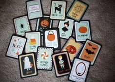 Halloween matching game - repinned by #PediaStaff.  Visit http://ht.ly/63sNt for all our pediatric therapy pins