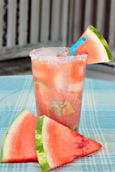 Watermelon Mojito.. I'm all for flavor!. Perfect for summer nights.