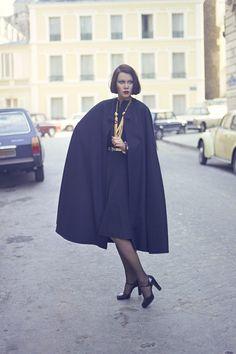 Look FW Alta Costura 1973 de Yves Saint Laurent